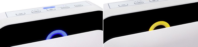 Podświetlenie oczyszczaczy powietrza ALFDA ALR300 Comfort