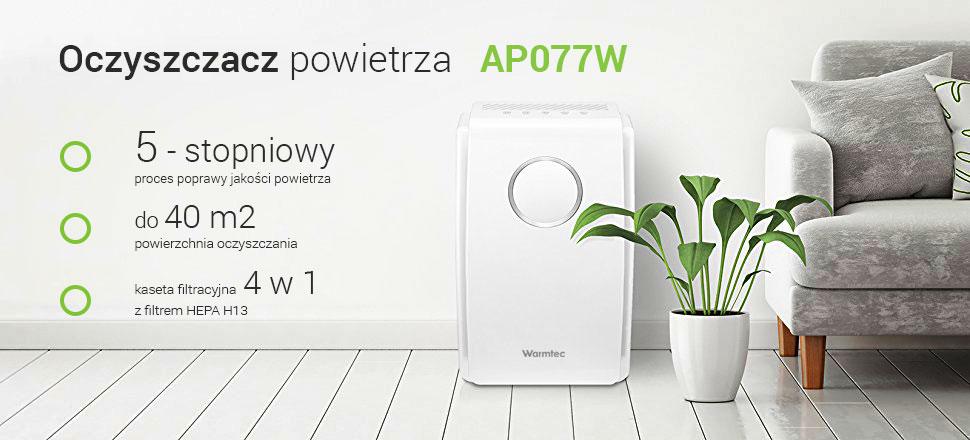 Warmtech AP077W oczyszczacz powietrza