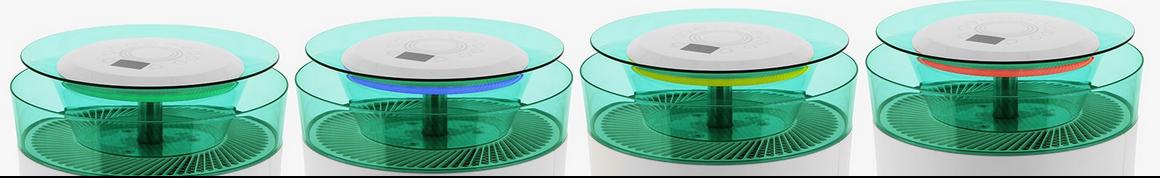 Jakość powietrza Rotenso A60W AERO oczyszczacz powietrza