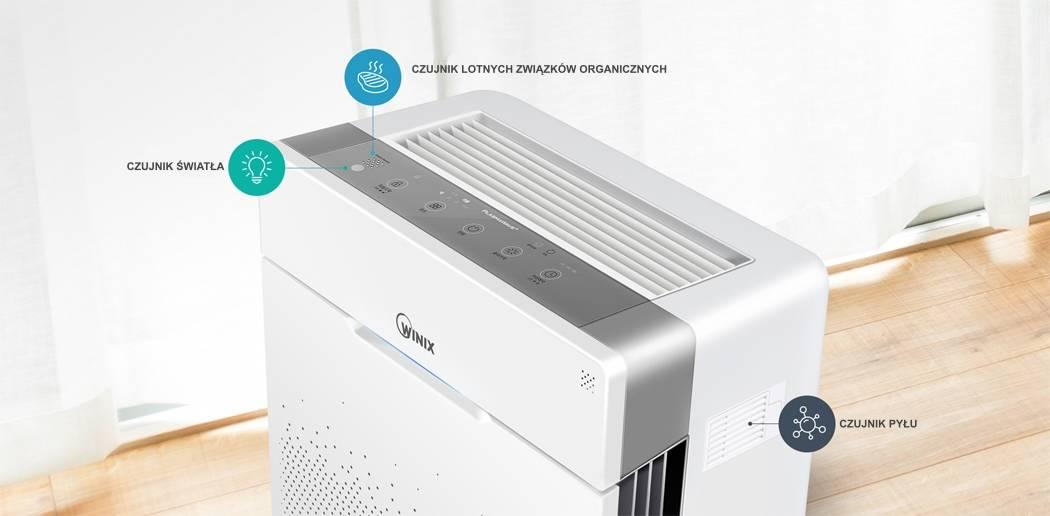 Winix Zero Pro oczyszczenie powietrza